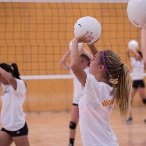 Lassiter volleyball camps