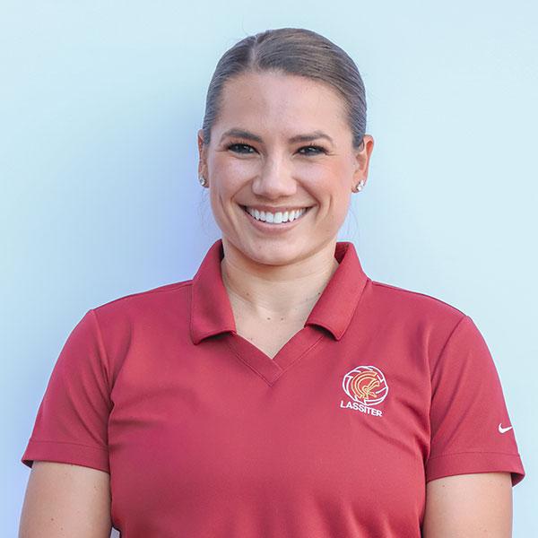 Varsity Assistant Coach Haley Winston